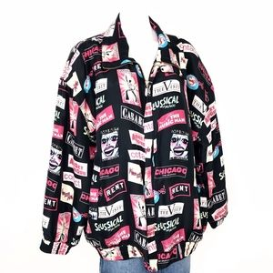 Vintage FUDA | Musical Broadway Graphic Jacket